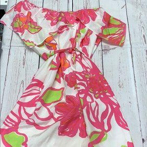 Lilly Pulitzer One Shoulder Dress